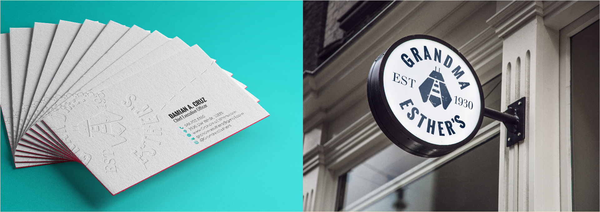 More Stationery Business Card design