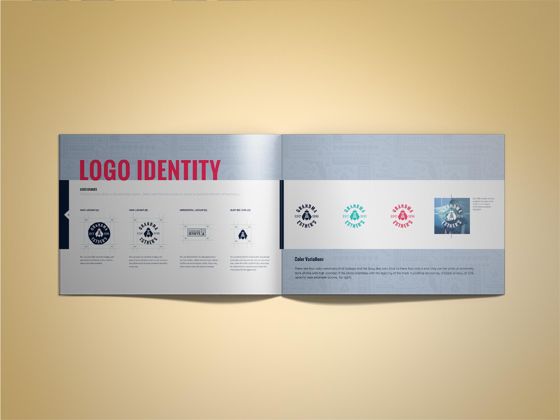 Brand Guidelines booklet Design