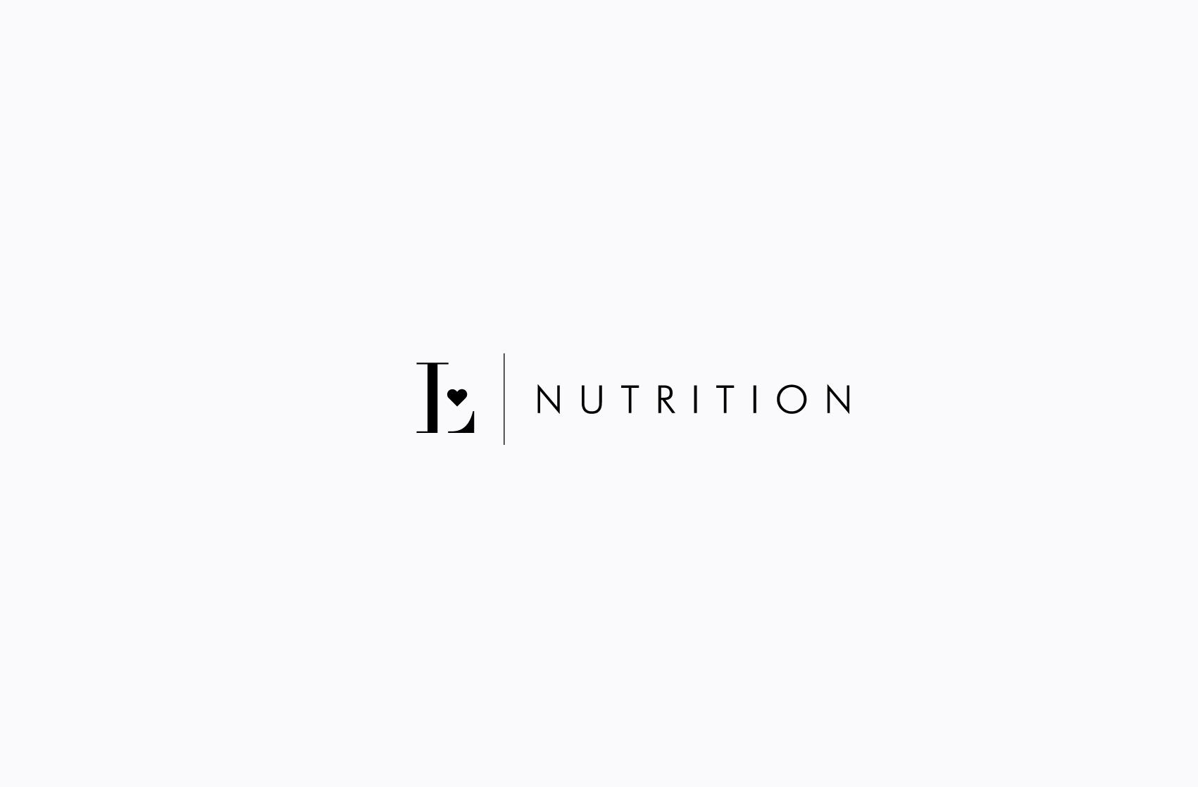 Luciana Nutrition Logo Design