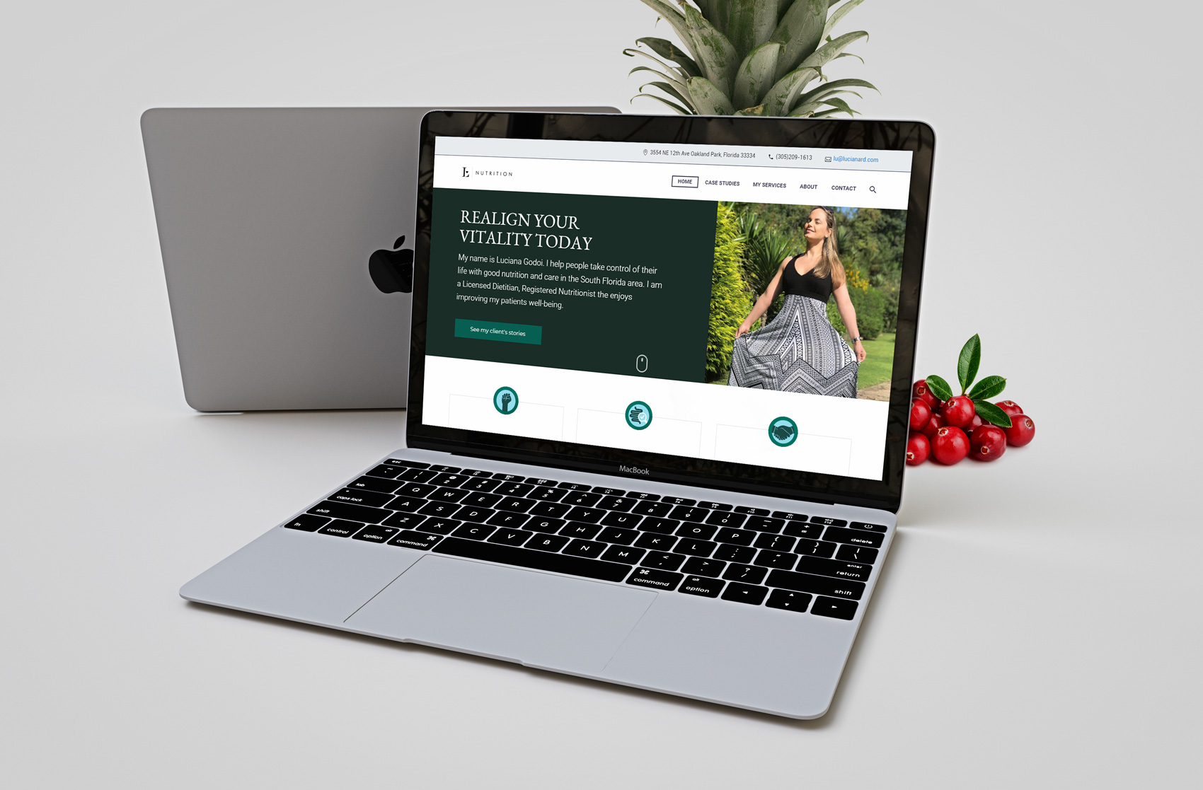 Luciana RDN Web Design